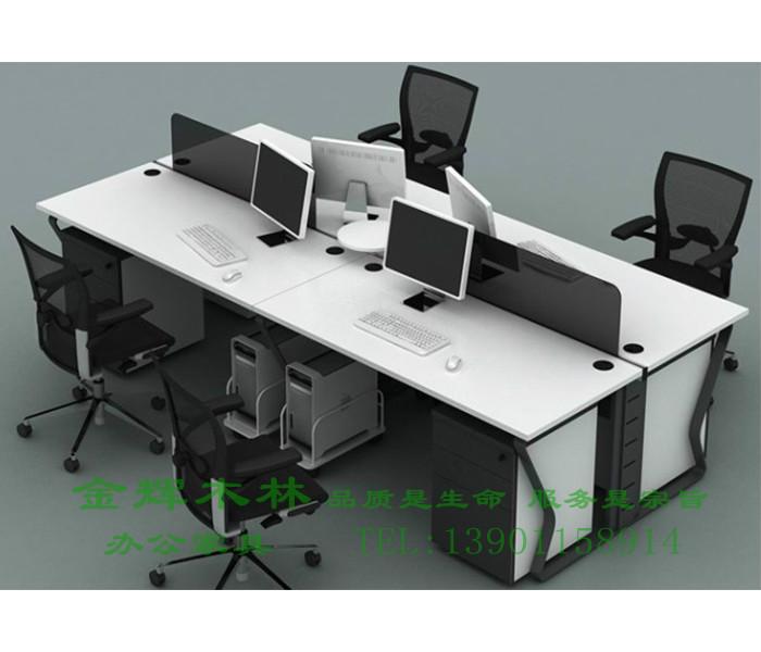 简约现代职员桌-2
