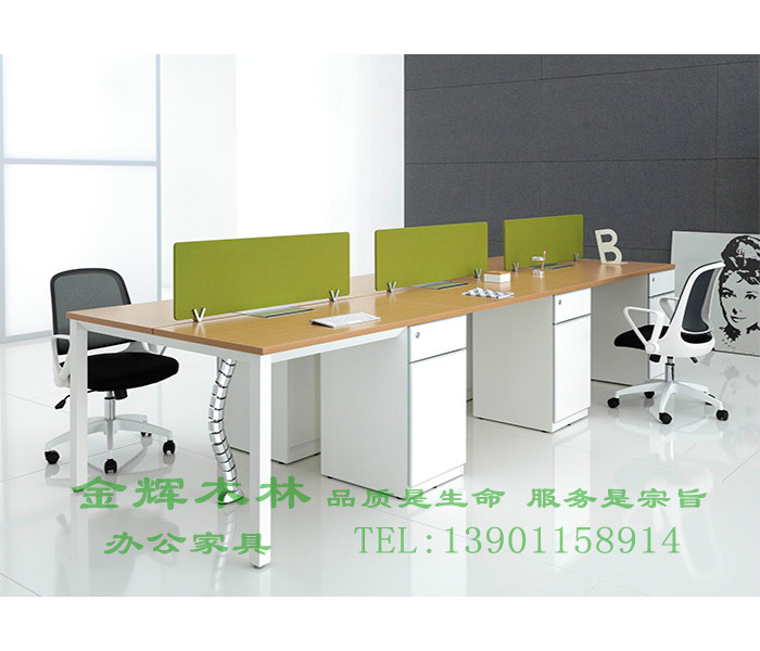 简约现代职员桌-6