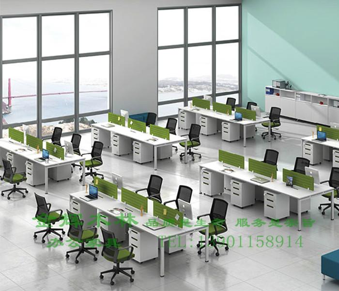 简约现代职员桌-7