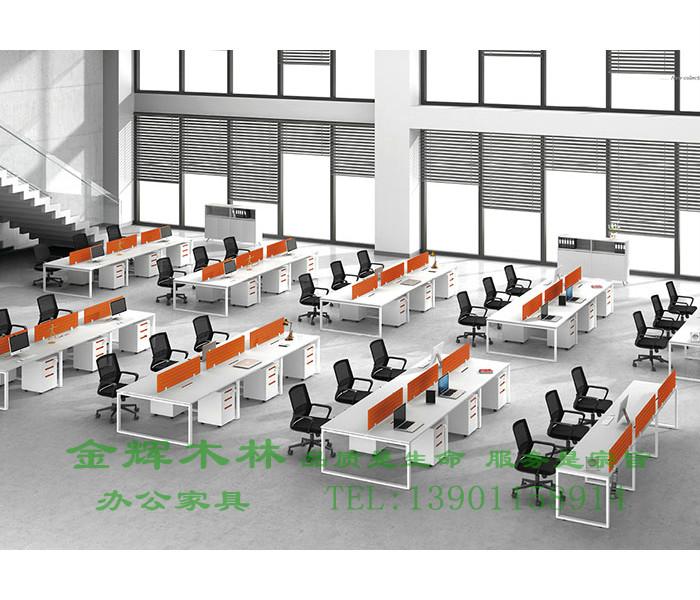 简约现代职员桌-8