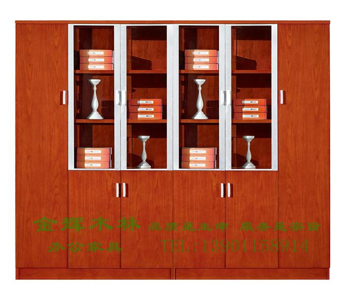 实木文件柜-1